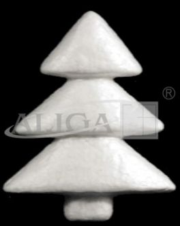 Christm.tr.toy BCH-08 Tree styrof.8,5cm 12pcs.