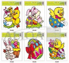 Easter stained glass windows WW-3/STEG-603